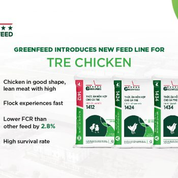 GREENFEED introduces a specialized nutrition solution for commercial tre chicken