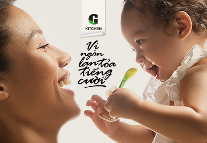 """Share the Goodness by """"Delicious Taste Spreads Laughter"""" with G Kitchen"""
