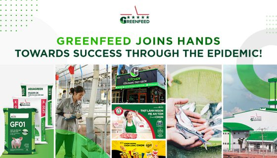GREENFEED joins hands towards success through the epidemic!