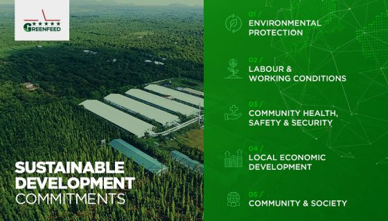 GREENFEED issues sustainable development policy